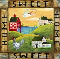 Home Sweet Home 2 Square Fine Art Print