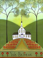 We Believe Church Fine Art Print