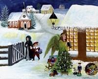 Christmas Angel Fine Art Print