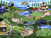 Fairway Golf Resort Fine Art Print