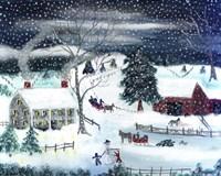 Winter Time Fine Art Print