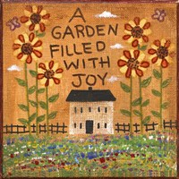 A Garden Filled With Joy Fine Art Print