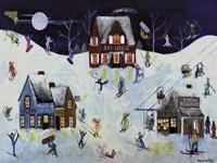 Mountain Ski Slope Fine Art Print