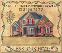 Brick House Blessing Fine Art Print