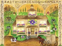 Faith Friends Family Fine Art Print