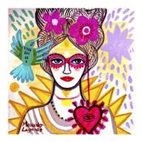 Lady Antoniette Fine Art Print
