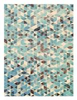 Grunge Geometry Fine Art Print