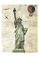 Liberty Balloon Fine Art Print