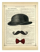 Invisible Gent Fine Art Print