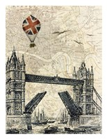 Tower Bridge Balloon Fine Art Print