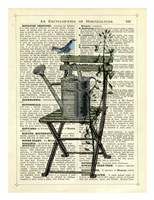 Gardener's Chair Fine Art Print