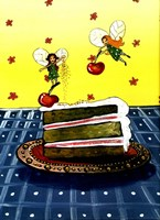Cake Fairies Fine Art Print