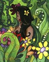 Hawaiin Girl Fine Art Print