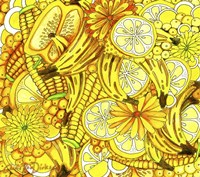 Vegetarian Thanksgiving Collage Fine Art Print