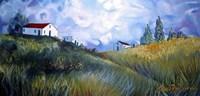 Windswept Landscape Fine Art Print