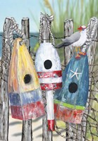 Buoy Birdhouse Fine Art Print