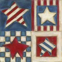 American Stars Fine Art Print