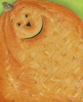 Pumpkin Smile Fine Art Print