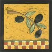 Tuscan Olive Branch II Fine Art Print