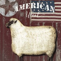 American Wool I Fine Art Print