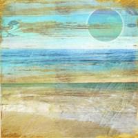 Turquoise Moon Day Fine Art Print