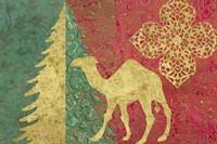 Xmas Tree and Camel Fine Art Print