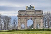 Arc de Triomphe du Carroussel Fine Art Print