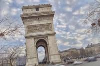 Arc de Triomphe II Fine Art Print