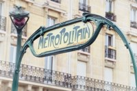 Art Nouveau Entrance of the Paris Metro Fine Art Print