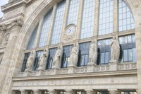 Gare du Nord Station II Fine Art Print