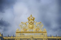 Golden Gate Of The Palace Of Versailles I Fine Art Print