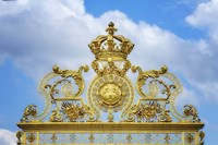 Golden Gate Of The Palace Of Versailles II Framed Print