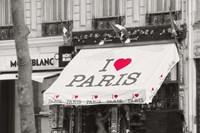 I Love Paris Fine Art Print
