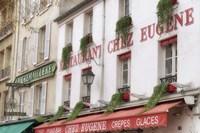 Monmartre Restaurant Fine Art Print