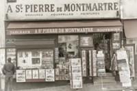 Monmartre Shop 1 Fine Art Print