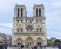 Notre Dame de Paris I Framed Print