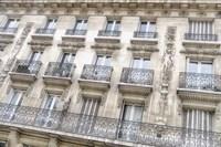 Paris Apartement Building I Framed Print