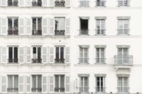 Paris Apartement Building II Fine Art Print