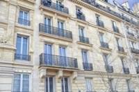 Paris Apartement Building III Framed Print