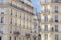 Paris Apartement Buildings Framed Print
