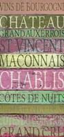 Burgundy Wines Red Fine Art Print