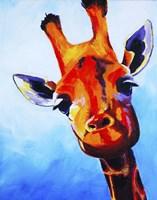 Curious Giraffe Fine Art Print