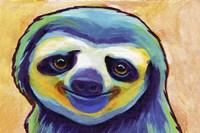 Happy Sloth Fine Art Print