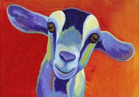 Pop Goat Fine Art Print