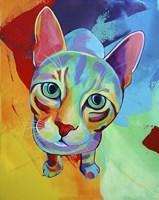 Ace Cat Fine Art Print