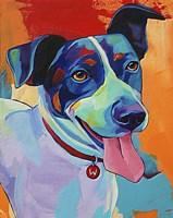 Willie Terrier Dog Fine Art Print
