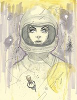 Space Queen 1 Fine Art Print