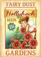 Hollyhock Seeds Fine Art Print