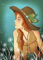 Dandelion Field Fine Art Print