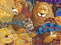 Leonine Tapestry Fine Art Print